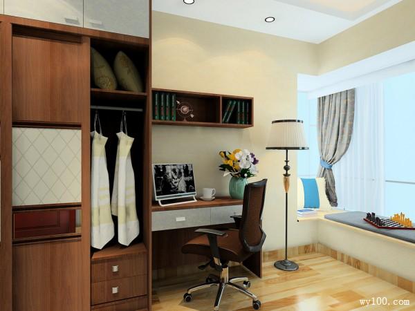 复古吊柜卧室装修效果图图片