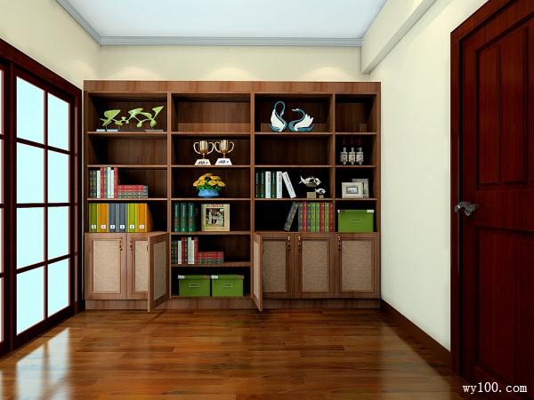 书柜装修效果图图片